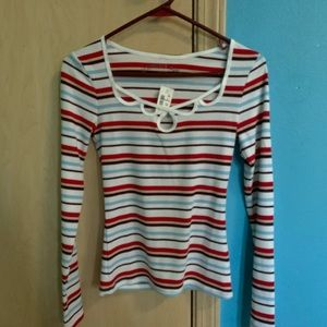 Soft Striped Long Sleeve. Size S. NWT